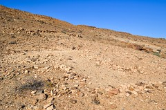 Old German forts near Haalenberg in Namibia