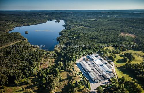 sverige jönköping industri swe flygfoto kulltorp troax tyngel