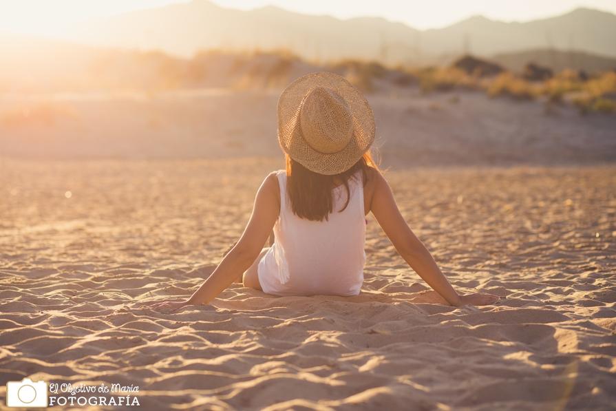 Relax en playa de los Genoveses, Almería