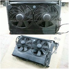 #For#Sale#Used#Parts#Mercedes#Benz#OEM#R129#SLClass#alyehliparts#alyehli#UAE#AbuDhabi#AlFalah#City  For Sale Mercedes Benz OEM R129 SL Class Used Parts - Complete Cooling Unit  WATER RADIATOR AND AIRCON CONDENSER RADIATOR AND FANS  AND COVERING TOGETHER!