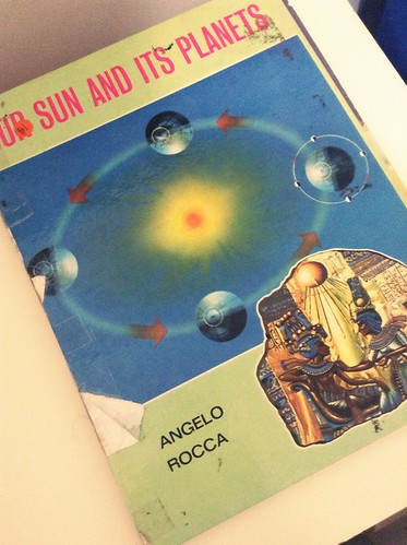 our sun and its planets vintage book