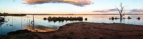 lake wyangan panorama
