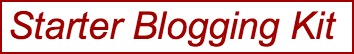 starter blogging kit
