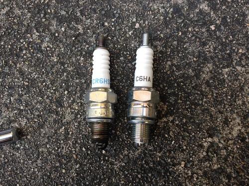 two plugs