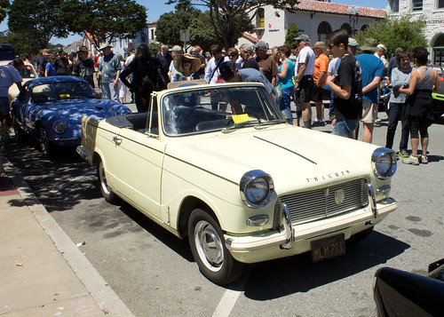 The Little Car Show - Pacific Grove 8/2014