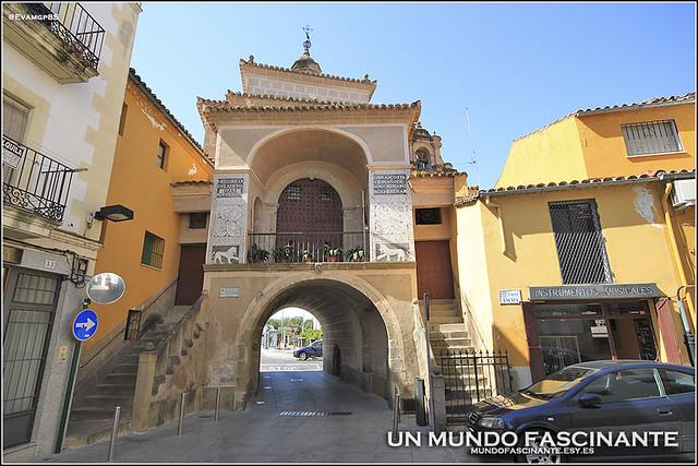 Puerta Trujillo, interior. Plasencia