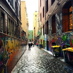 Another day, another alley.