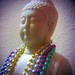 Holga HL-PQ 2 test - Buddha does Mardi Gras by fedglass fauxtostream / clicheographs exposed