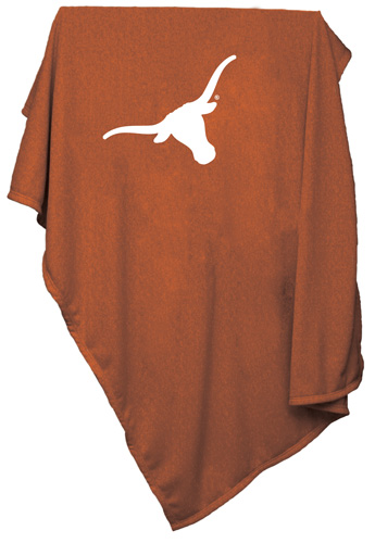 Texas Longhorns NCAA Sweatshirt Blanket