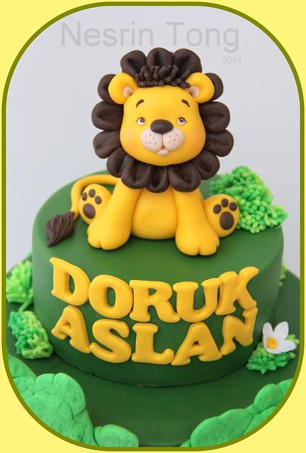 little lion by nesrin tong figüre