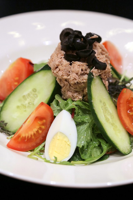 Lunch: Salad Nicoise