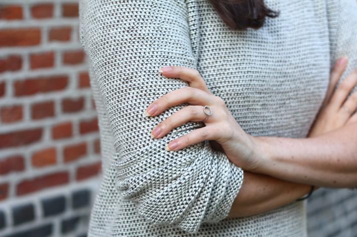 vero moda sweater diamanti per tutti ring