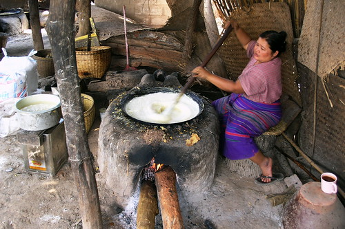 Myanmar - Life At Inle Lake - Tofu Processing - 2