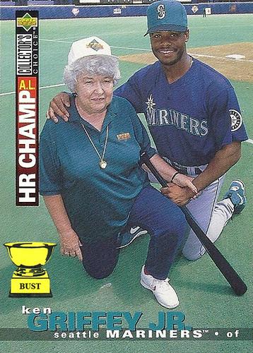 Baseball Card Bust Ken Griffey Jr 1995 Upper Deck