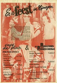 1986 café  De Plak wordt 10 jaar