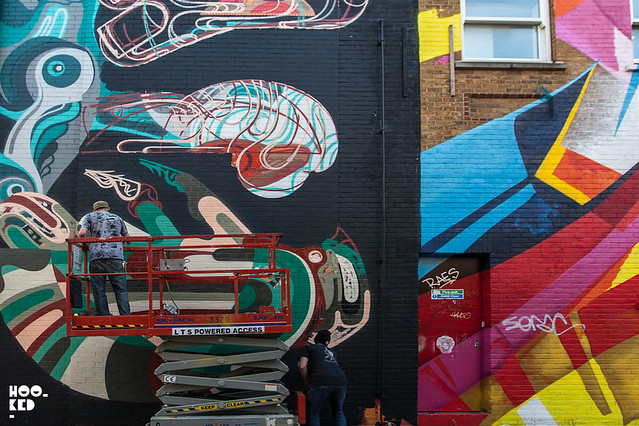 REKA Mural In London