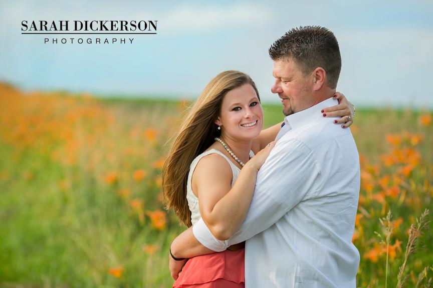 Atchison Kansas engagement session