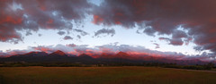 Pano: Sunrise on the Sangres