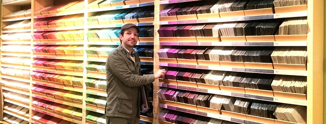 Shopping for paper at Paper Source