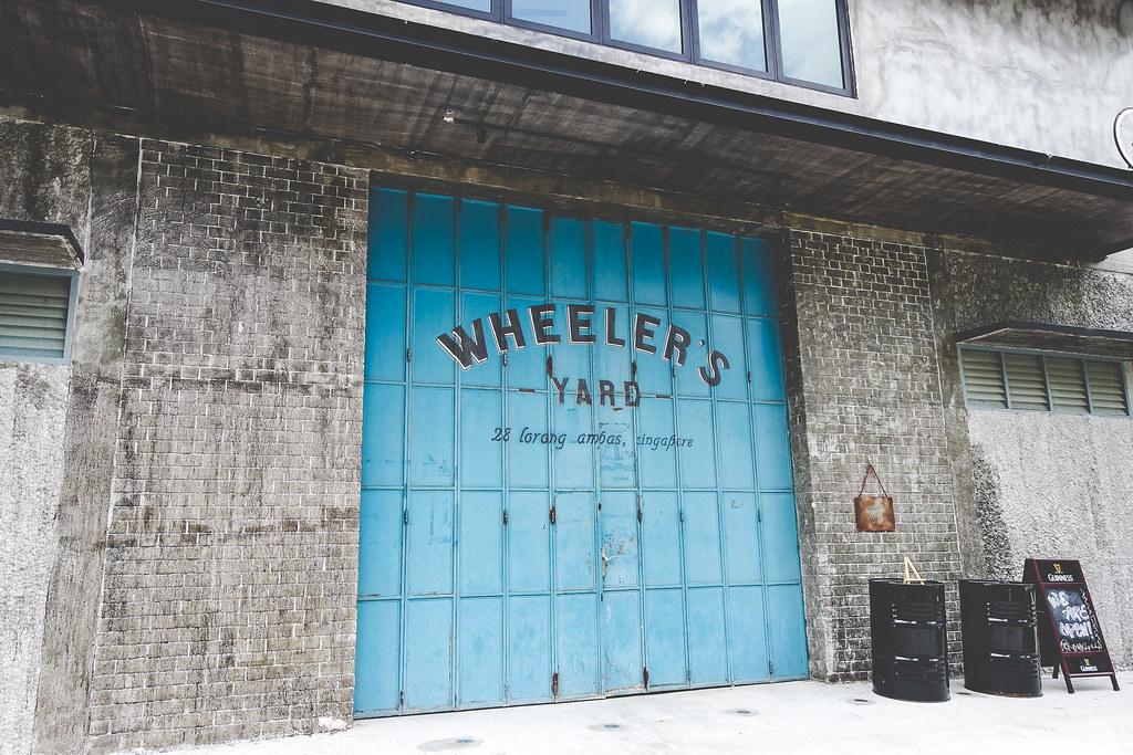 Wheeler's Yard Iconic Gate