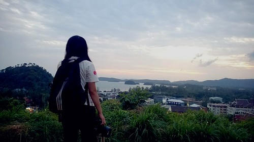 sunset thailand rhine krabi hilltop 泰国 甲米
