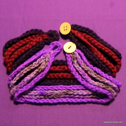 Chain Wrap Bracelet Free Crochet Pattern Jessie At Home
