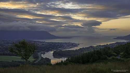 ireland seascape sunrise august flagstaff 2014 carlingfordlough warrenpoint codown