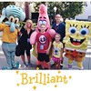 Met a bunch of our favorite characters today at @universalorlando! The family favorite was the Sponge Bob crew. So Fun!! #family #universalstudios #spongebob #travel #familyforward #livinglocurtoorlando #madewithstudio