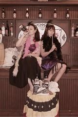 Sassy saloon girls
