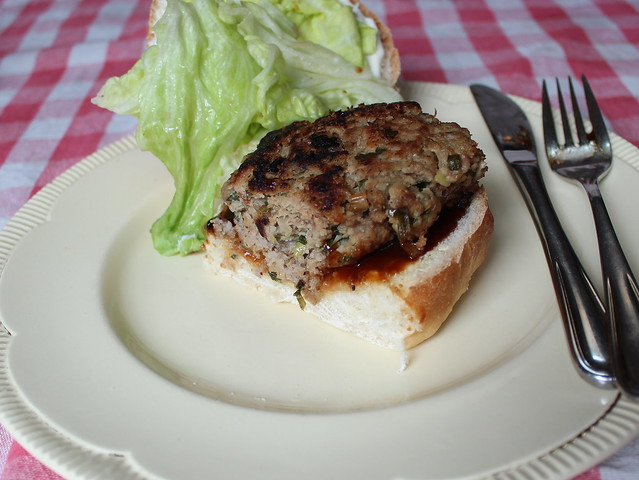 Pork & Apple Hamburger Patty