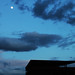 Blue night.