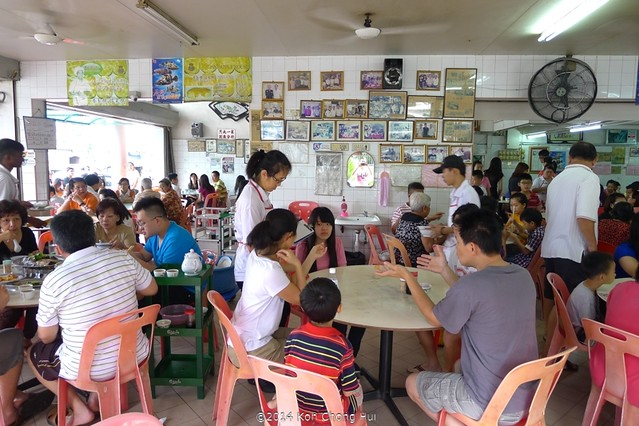 P1170042ping xiang restaurant in KL 品香食家小馆
