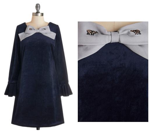 Bear bow dress
