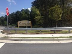 Blankets Creek Signage