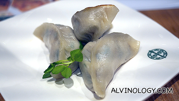 Pan Fried Dumplings with Leek - S$4.50