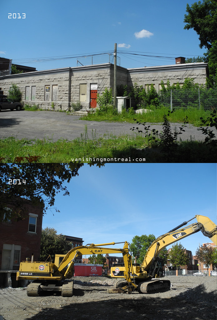 Before and After : Église St-Anselme church 3