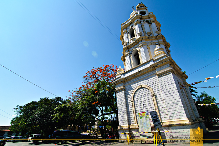 Separate Belfry at Vigan City's St. Paul Cathedral