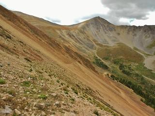 Browns Peak from 4wd Road in Lulu Gulch