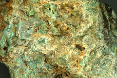 Green orthoclase (Precambrian; Southern Cross, about 11 to 12 km north of Broken Hill, far-western New South Wales, southeastern Australia)