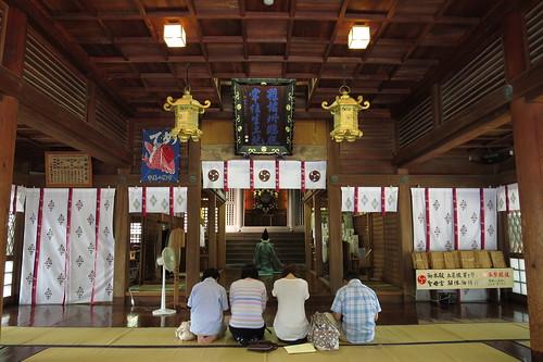 Umi-Hachimangu shrine