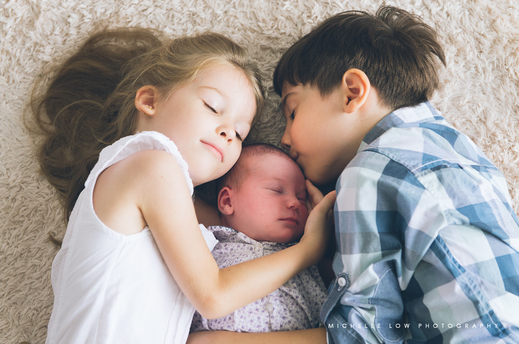 {New born} The Sparks family