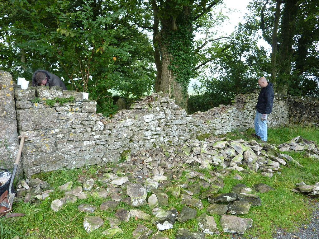 Dry Stone Wall to Repair