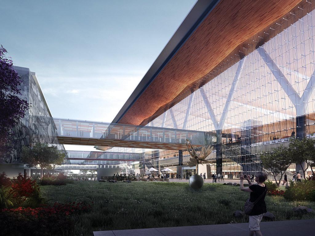 Propuesta bgp gensler naicm for Puerta 6 aeropuerto ciudad mexico