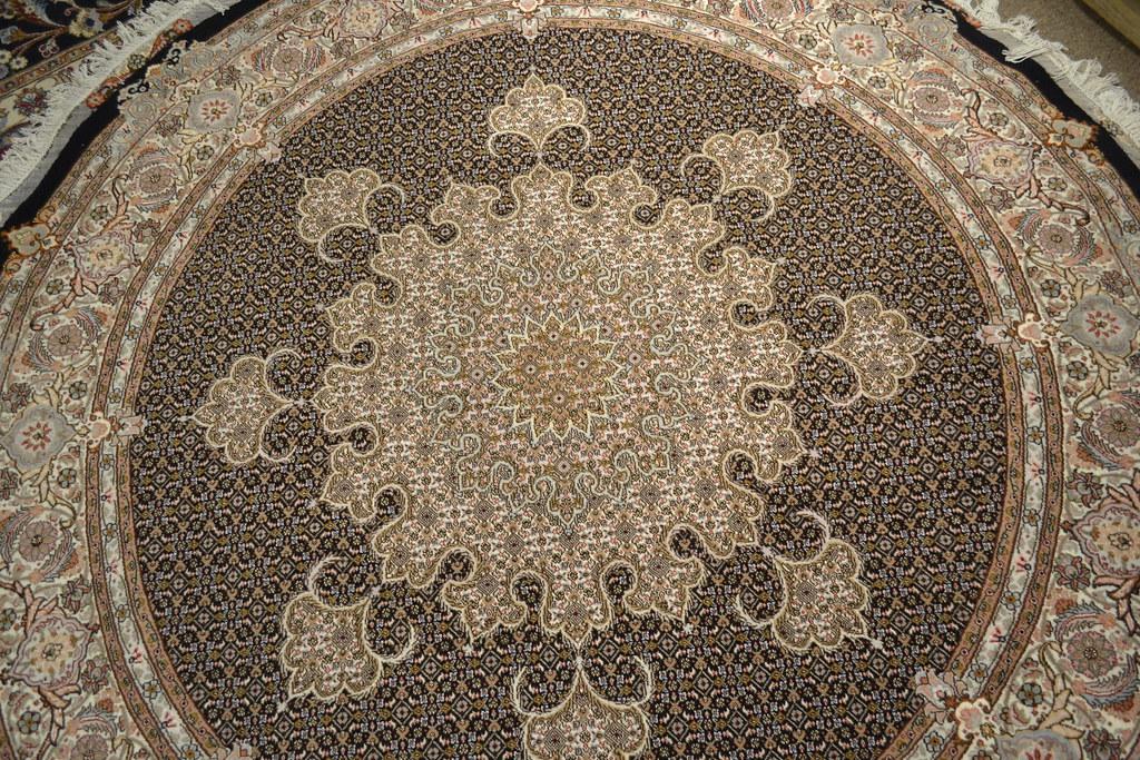 Fish Design Mahi Round Persian Rug