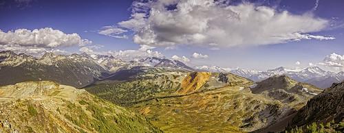 mountain ski station vancouver whistler circus alberta canadá columbiabritánica peak2peak