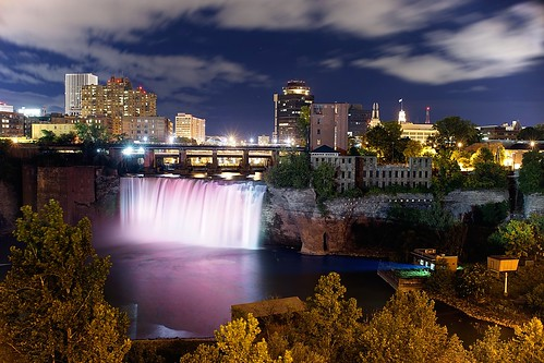 skyline night waterfall nikkor35mmf14 sonyalpha7rilce7ra7r sony0mmf00 vacation2014fallatlanticcanada