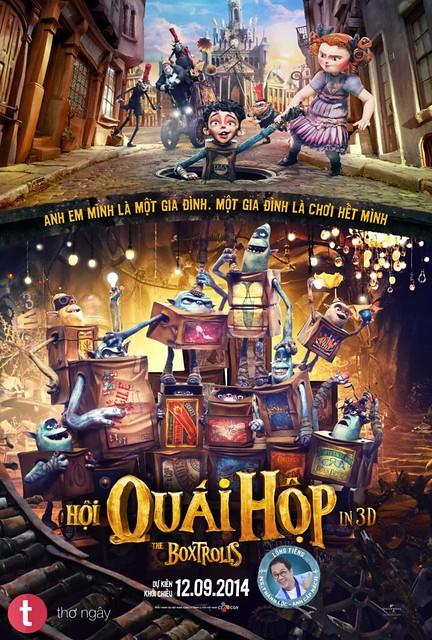 Phim Hội Quái Hộp - The Boxtrolls