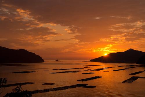 light sunset sea sky nature japan landscape photography nikon scenery d800 2470mm nikoor