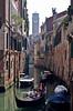 Romantic cruise through Venice