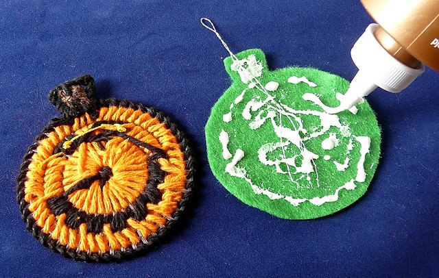 Plastic Canvas Pumpkin Tutorial